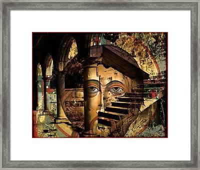 Ascending Framed Print by Mary jane Miller