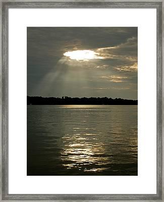 Ascension Framed Print by Holly Kallie