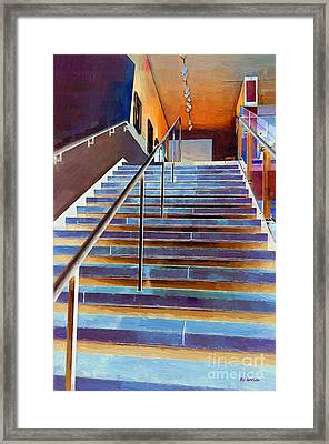 Ascension In Color Framed Print by RC deWinter
