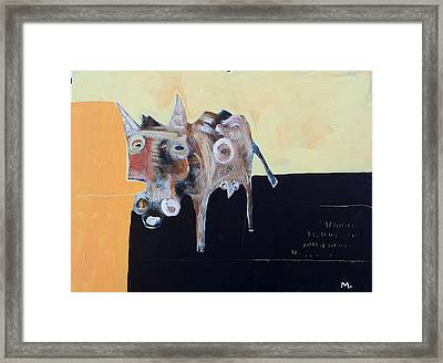 Asellus No.2 Framed Print by Mark M  Mellon