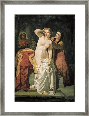 Asenjo Arozarena, Salustiano 1834-1897 Framed Print by Everett