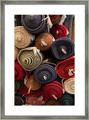 Asia, India, Rajasthan, The Making Framed Print by Emily Wilson