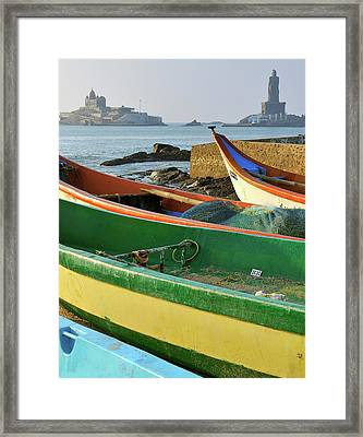 Asia, India, Tamil Nadu, Kanniyakumari Framed Print by Steve Roxbury