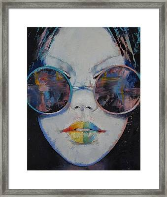 Asia Framed Print by Michael Creese