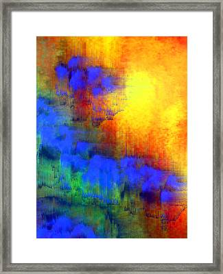 Asian Sunset Framed Print by Bruce Shannahoff