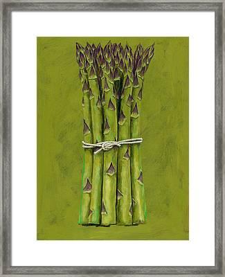 Asparagus Framed Print by Brian James