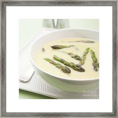 Asparagus Soup Framed Print by Colin and Linda McKie