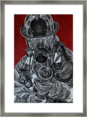 Assault Framed Print by Jodi Monroe
