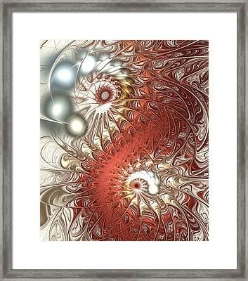 Assimilation Framed Print by Anastasiya Malakhova