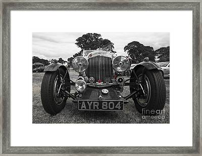 Aston Martin Roadster  Framed Print by Rob Hawkins