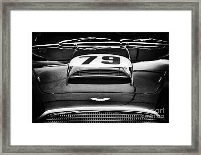 Aston Martin Superleggera Framed Print by Tim Gainey
