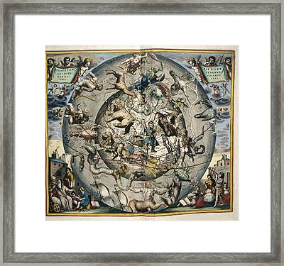 Astrological Sphere Framed Print by British Library