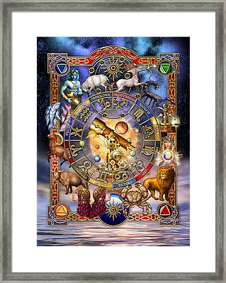 Astrology Framed Print by Ciro Marchetti