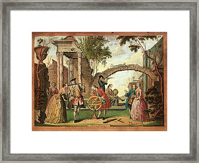 Astronomy Framed Print by Museum Of The History Of Science/oxford University Images