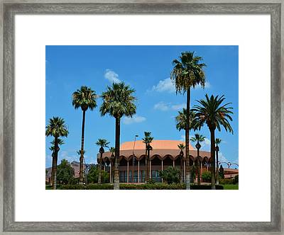 Asu Gammage Framed Print by Richard Jenkins