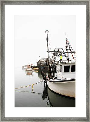 At Dock Framed Print by Karol Livote