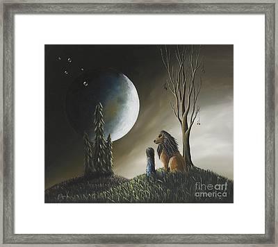 At Midnight By Shawna Erback Framed Print by Shawna Erback