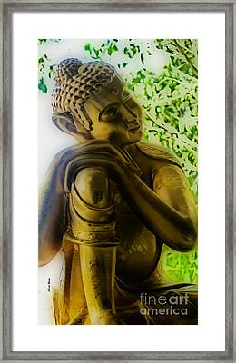 At Peace Framed Print by Cheryl Young