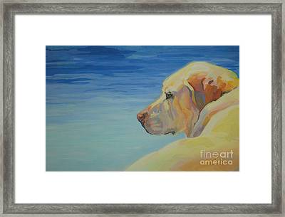 At Peace Framed Print by Kimberly Santini