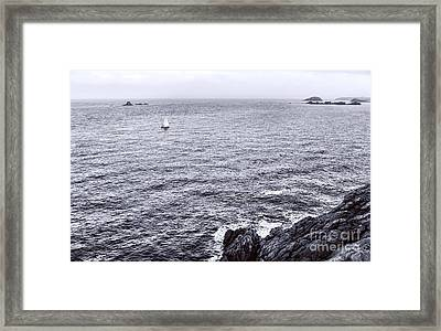 At Sea Framed Print by Olivier Le Queinec