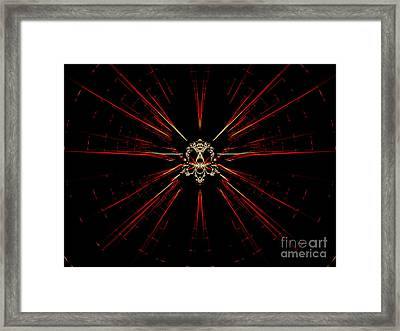 At The Core Framed Print by Renee Trenholm