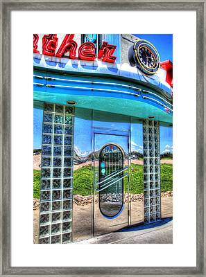 At The Diner 3 Framed Print by Diane Alexander