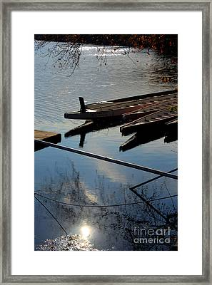 At The Docks Framed Print by Mark Ayzenberg