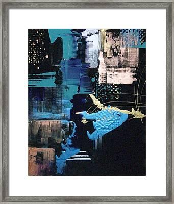 At The Edge Of Beyond Framed Print by Charlotte Nunn