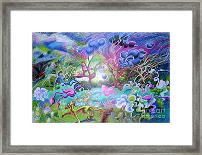 At The Equator Framed Print by Genevieve Esson