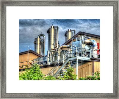 At The Landfill Framed Print by MJ Olsen