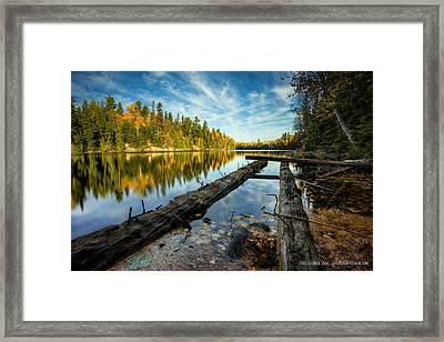 At The Loch Lomond Dam Framed Print by Jakub Sisak
