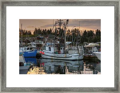 At The Marina Framed Print by Randy Hall