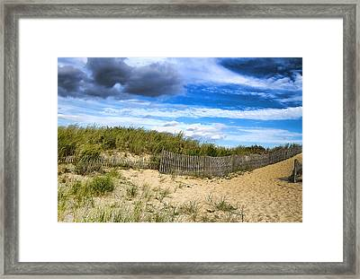 At The Shore Framed Print by Trudy Wilkerson