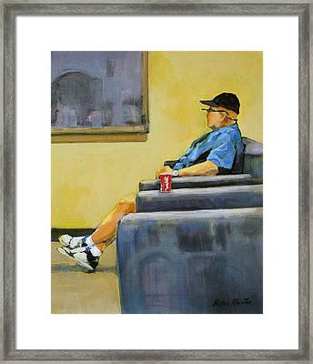 At The Tire Store Framed Print by Patton Hunter