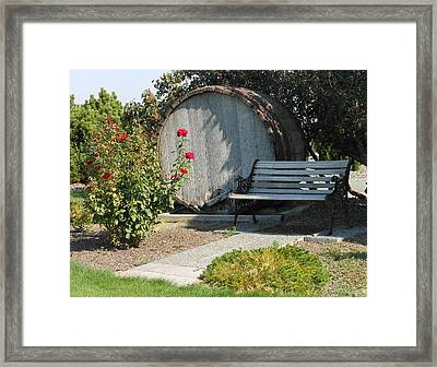 At The Winery Framed Print by Kay Gilley