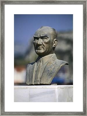 Atat�rk, Kemal 1881-1938. Turkish Framed Print by Everett