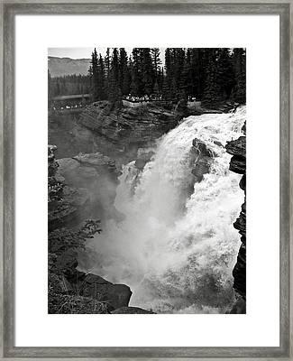 Athabasca Falls Framed Print by RicardMN Photography