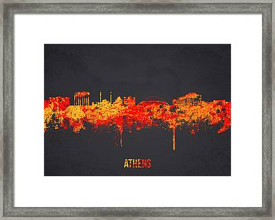 Athens Greece Framed Print by Aged Pixel