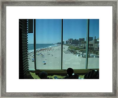 Atlantic City - 12124 Framed Print by DC Photographer
