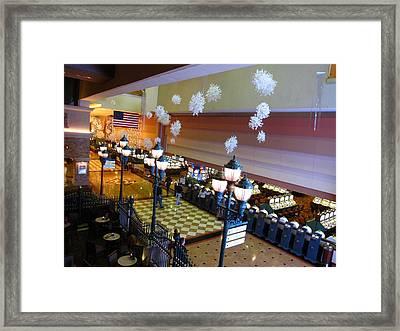 Atlantic City - Casino - 01136 Framed Print by DC Photographer