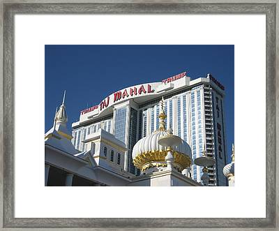 Atlantic City - Trump Taj Mahal Casino - 01132 Framed Print by DC Photographer