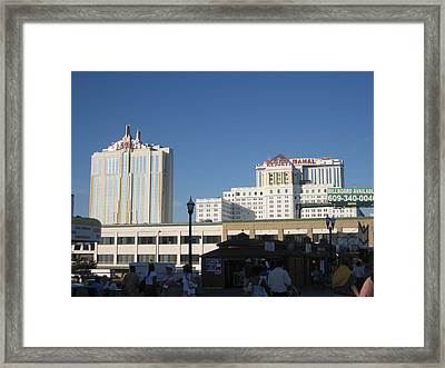 Atlantic City - Trump Taj Mahal Casino - 01133 Framed Print by DC Photographer