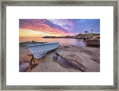 Atlantic Dawn Framed Print by Eric Gendron