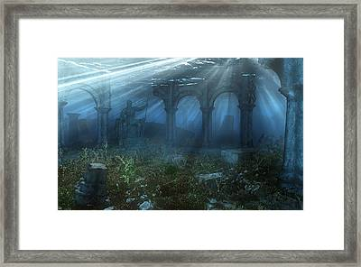 Atlantis Framed Print by Cynthia Decker
