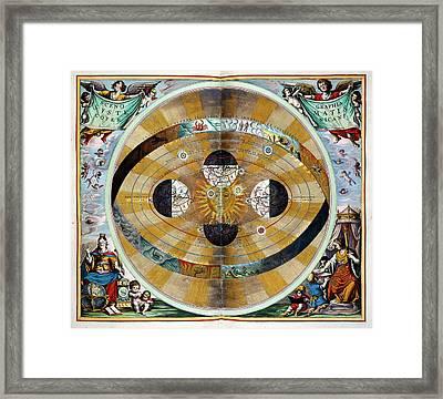 Atlas Coelestis Framed Print by British Library
