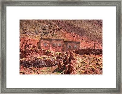 Atlas In Morocco Framed Print by Sophie Vigneault