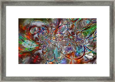 Atmosphere Framed Print by Kenneth Hadlock