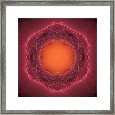 Atome-13 Framed Print by RochVanh