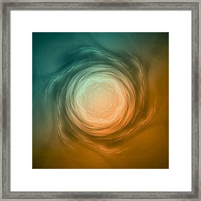 Atome-58 Framed Print by RochVanh