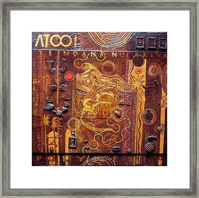 Atooi Dreaming Framed Print by Derek Glaskin